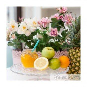 ananas smoothie raw vegan