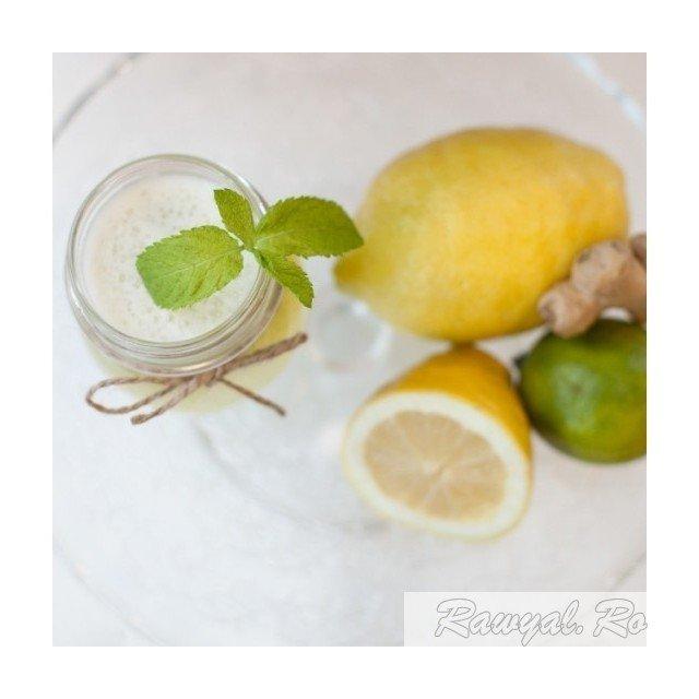 limonada cu menta si ghimbir 500 ml 1