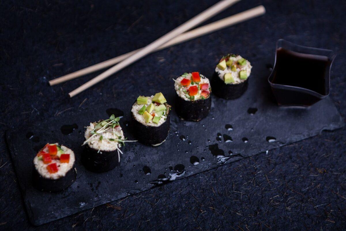 sushi raw vegan 1