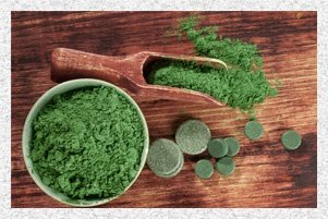 chlorella raw vegan