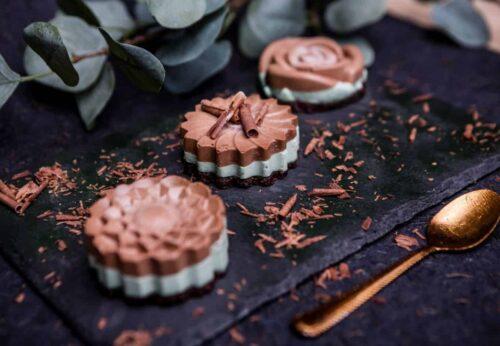 cupcake ciocalata si menta