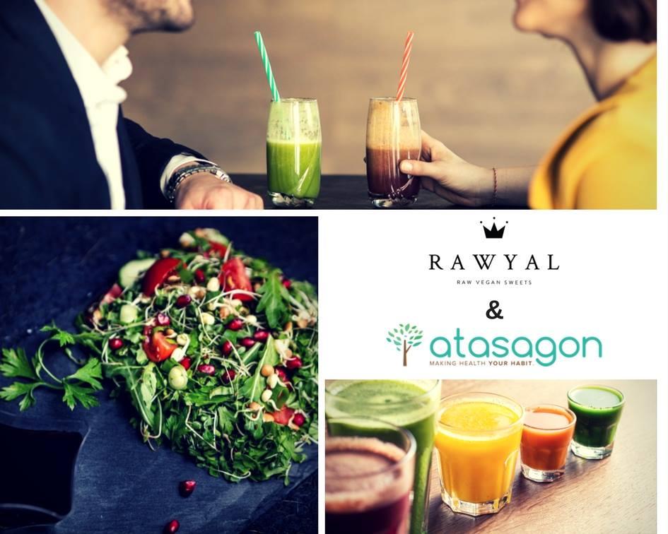 Rawyal & Atasagon promovează stilul de viață sănătos • Rawyal.ro