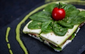lasagna raw vegana