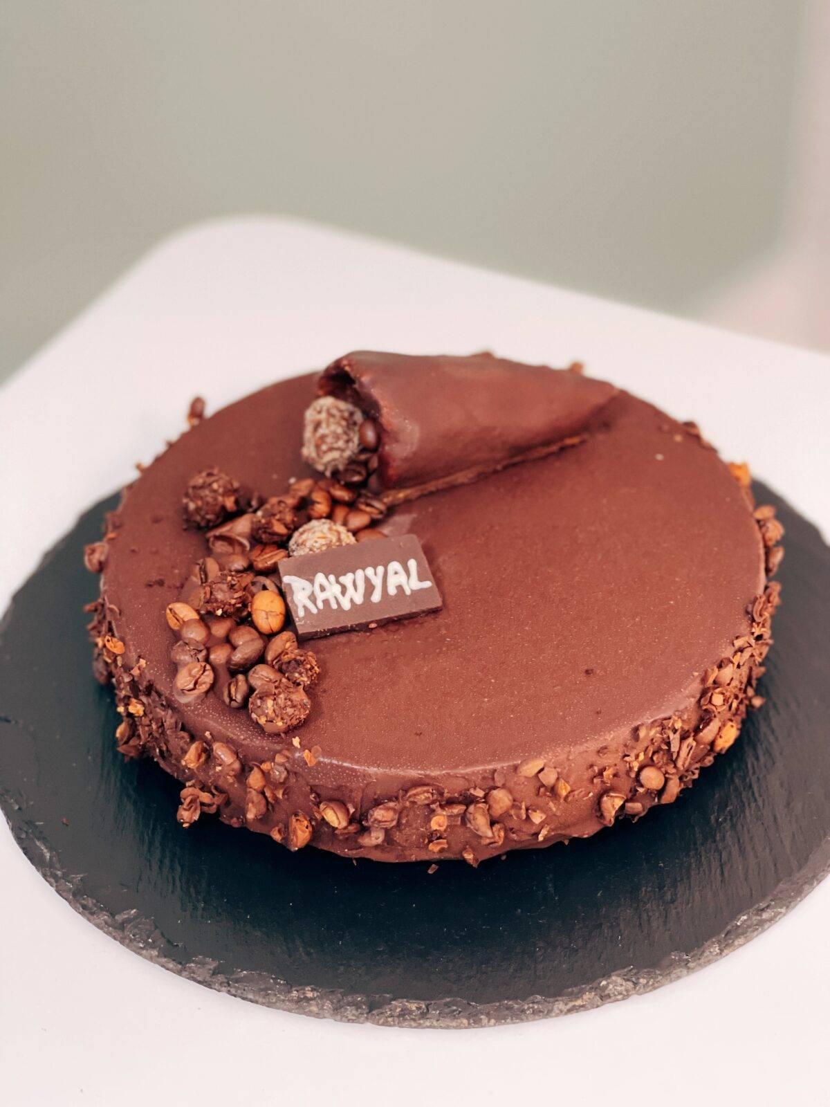 Tort mousse de cafea - 1 kg • Rawyal.ro